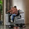 青岛高美GM110BT85驾驶式洗地车工厂车间地面清洗