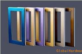 彩色門窗|北京彩色塑鋼