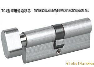 T04型單邊通道鎖芯