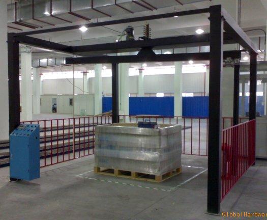 龙门型悬臂PE拉伸膜缠绕包装机(广东深圳惠州珠海打包机)