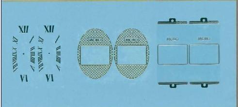 金屬鎳標牌,UP電鑄標牌