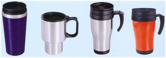 汽車杯、咖啡壺、套杯
