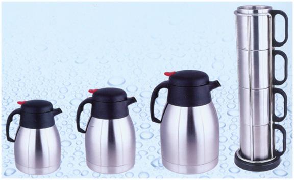 咖啡壺、套杯
