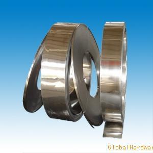 供應彈片用不銹鋼帶,彈簧鋼帶,高硬度不銹鋼彈片材料