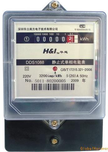 DDS1088型(F76)静止式单相电能表