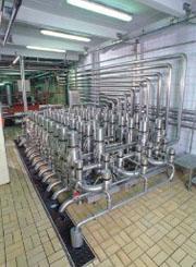 阀阵工程系统 混合配料系统 板式换热器