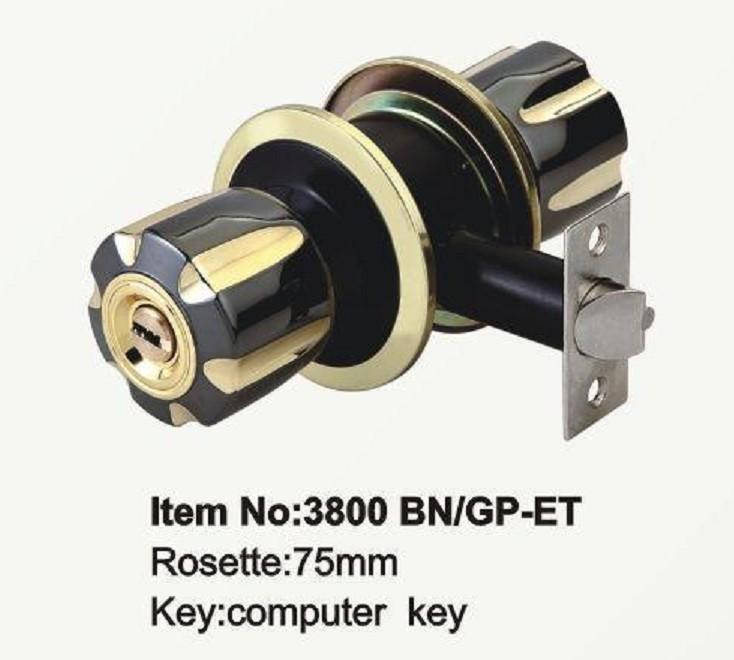 3800,01,03,04,08,09筒式球形锁门锁五金锁具