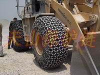 供應礦山50鏟車輪胎防滑鏈 裝載機23.5-25輪胎?;ち? class=