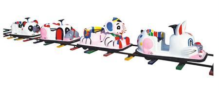 軌道火車,動物火車