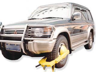 廣州安贏廠家熱銷吸盤式車輪鎖 大型輪胎鎖 防盜鎖
