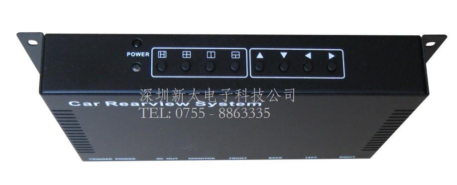 ST403C車載分割器|深圳新太車載四畫面分割器生產廠家報價