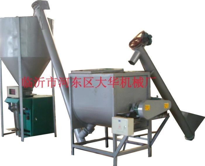 大華供應成套膩子粉混合灌裝生產線