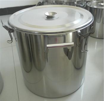 不銹鋼直口桶,不銹鋼直口密封桶