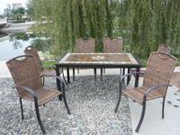 北京戶外桌椅,北京休閑桌椅,北京板巖桌椅,北京石面桌椅