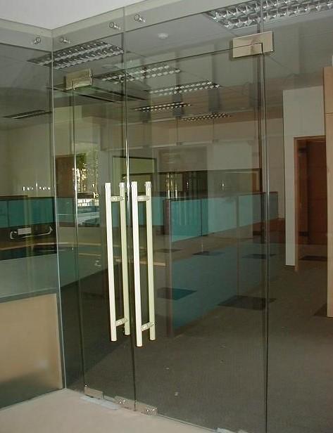 玻璃門安裝,新街口安裝 玻璃門換玻璃