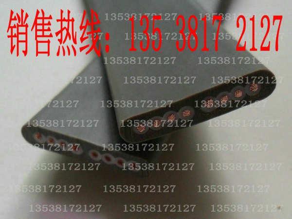 供應伸縮門專用扁線/電動門扁電纜/扁電纜8芯0.75/電動伸