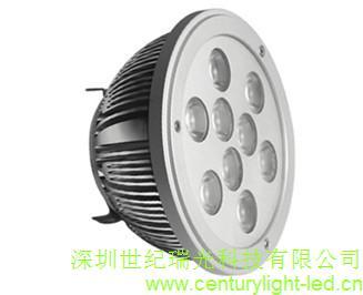 調光6W/9W/12W 12V led嵌入燈/AR111