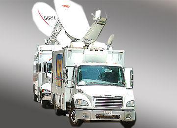 廣播直播車、電視轉播車