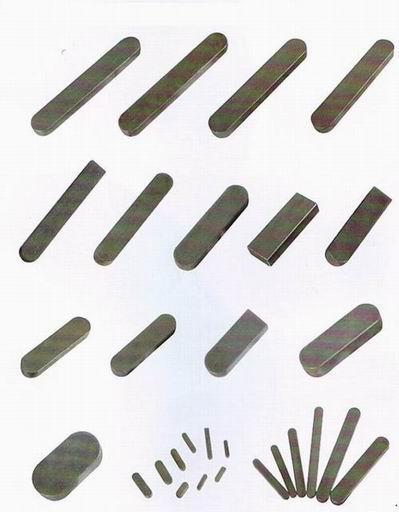 平鍵、鍵條、半圓形鍵、長方形鍵