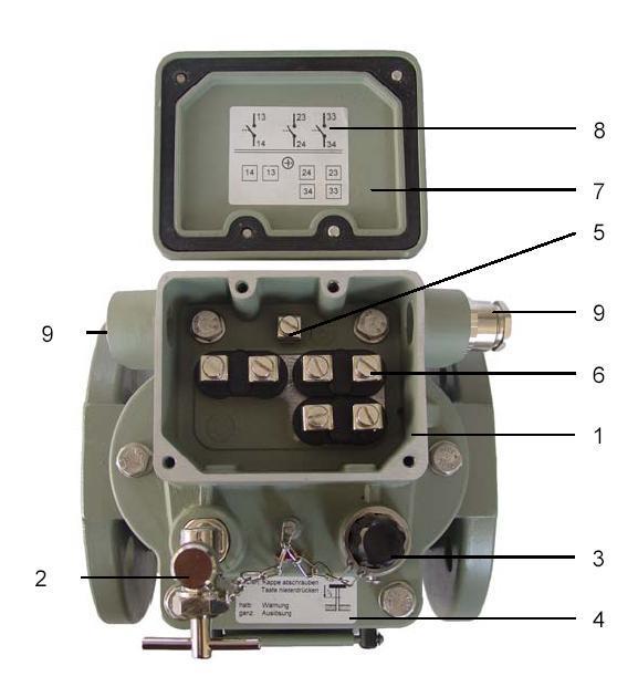 德國EMB瓦斯繼電器BF80/10,BC80/10