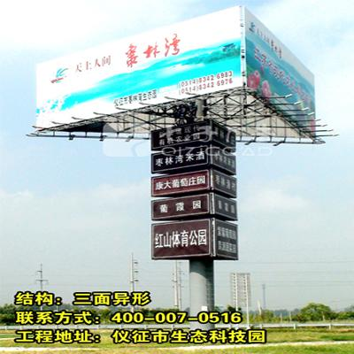單立柱廣告牌規格