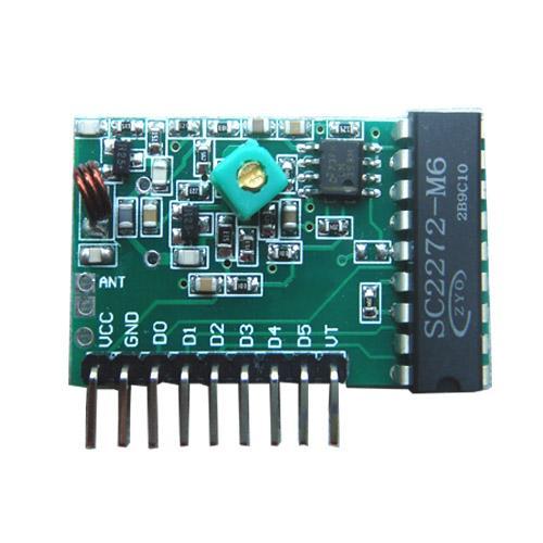 龍達接收模塊RC-RJ05,六路無線接收模塊