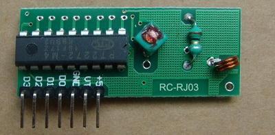 無線超再生接收模塊RC-RJ03,收發模塊