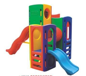 山西太原乐培龙供应塑料儿童滑梯