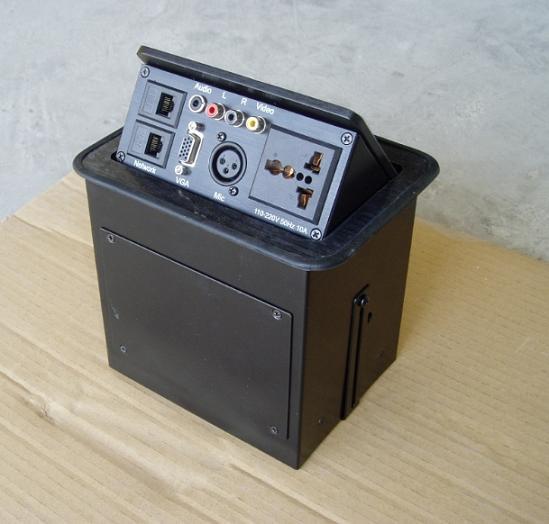 多功能会议桌面插座 多功能会议系统配套设备