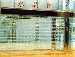 深圳水晶門維修深圳伸縮門鵬祥門業