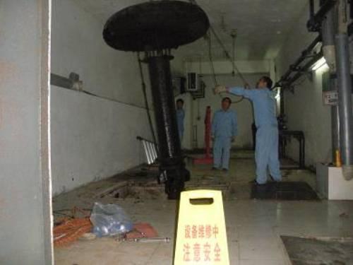 南京復葉推流式曝氣機維修