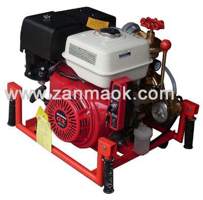 本田13馬力動力2.5寸汽油高揚程便攜式手抬消防水泵(海水泵