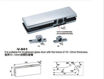 供应玻璃门夹,玻璃夹,门夹,不锈钢门夹,铝芯门夹