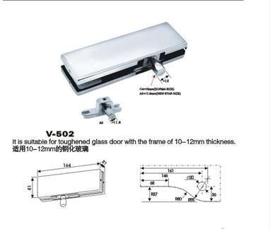 高要金利正邦大量供应优质玻璃门夹