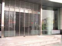 銀行卷簾門、銀行網型門、銀行電控門
