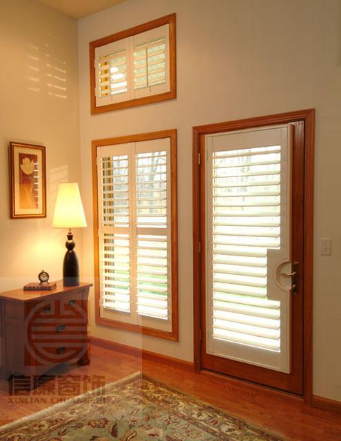 供應實木百葉窗、歐式透氣窗、百葉衣柜門、折疊門、移門