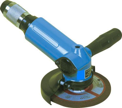 SJ110°125 气动角磨机,SJ110°125角式气动砂