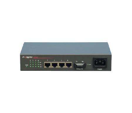 OL100C-05A/B 四以太网电口光纤收发器