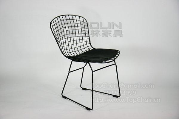 铁线椅子,铁丝网餐椅,网格椅子