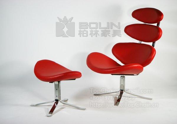 蜈蚣椅,魚骨椅,不銹鋼躺椅