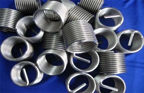 304材质钢丝螺套, 钢丝螺纹护套厂家