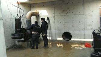 南京泵站水泵及管路安装