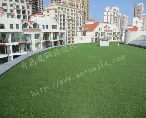 烟台仿真人造草坪-室外绿化人造草坪