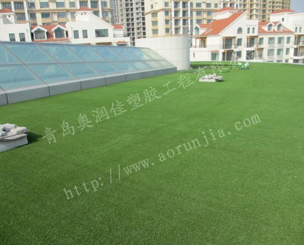 室外仿真人造草坪-陽臺綠化人造草坪