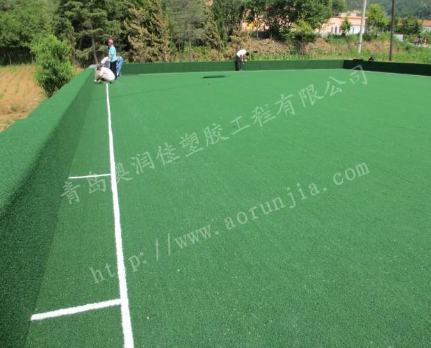 漂亮的門球場建造-不用養護的門球場草坪
