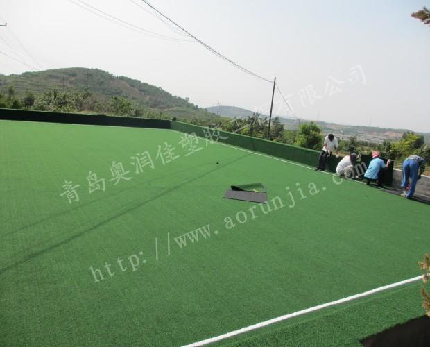 门球场人造地面铺装-门球场草坪铺设