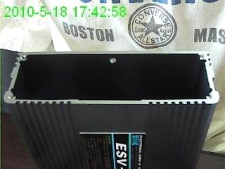 铝外壳120X41 铝外壳 铝外壳侧板 散热片 电子散热器