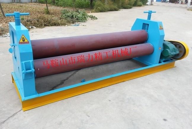 安徽W11小型卷板机 12×2000电动三辊卷板机