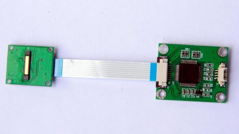 供應DLS-101UA 刮擦式指紋模塊