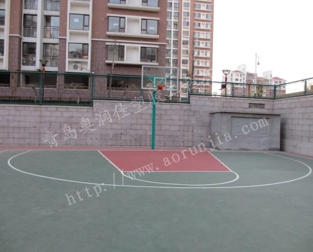 潍坊硅PU球场施工-硅pu网球场厂家
